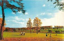 Bethesda Md~Fallen Leaves~Foursome Playing Golf~Kenwood Golf & Country Club 1960