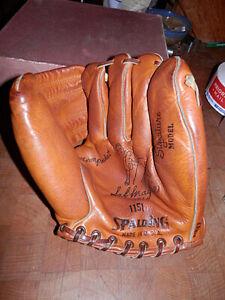 Great 50s Spalding 1151 Sal 'The Barber' Maglie Signature Model Baseball Glove