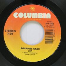 Country Nm! 45 Rosanne Cash - 707 / The Way We Make A Broken Heart On Columbia