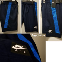 SZ MEDIUM RARE 🆕 Nike Sportswear Men's Air Blue Knee Length Woven Shorts 💰$70