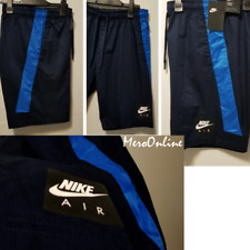 SZ LARGE RARE 🆕🔥 Nike Sportswear Men's Air Blue Knee Length Woven Shorts 💰$70