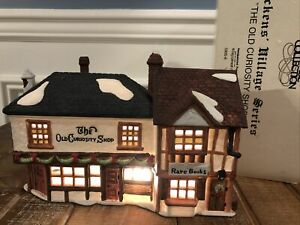 Dept 56 Dickens Village The Old Curiosity Shop Rare Books Antiques Heritage
