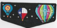 Boy Scout OA 72 Tejas Lodge 2018 NOAC Flap
