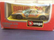 FERRARI 288 GTO 'MAMPE' RACE CAR 1:43 BURAGO MODEL * BOXED *