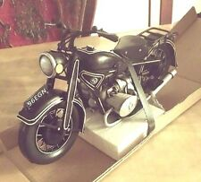 BMW BIKE MOTORCYCLE tin toy tinplate car blechmodell auto voiture tole ブリキ