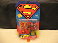 Superman SOLAR SUIT SUPERMAN w/Space Probe Launcher Collector Card NEW 1995