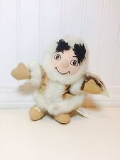 "The Disney Store Exclusive Alaska Boy Small World 7"" Mini Bean Bag Plush Nwt"