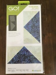 Accuquilt Go flying geese new and unopened