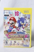 Mario & Sonic At The London 2012 Olympic Games SEGA Nintendo Wii