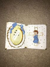 Cross Baby Picture Frame