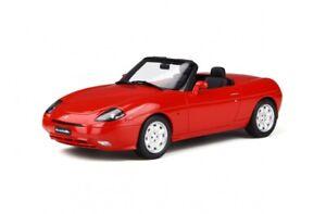 FIAT BARCHETTA 1995 convertible resin model red Ltd Ed 1:18th Otto Mobile 816