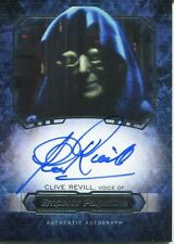 Star Wars Masterwork 2016 Autograph Card Clive Revill As Emperor Palpatine