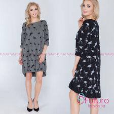 Asymmetric Casual Regular Size Dresses for Women