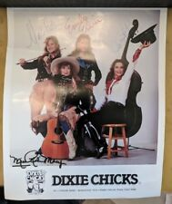 Dixie Chicks Autographed Photo - Rare 4th Dixie Chick Robin Macy!