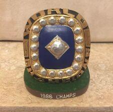 1986 Mets World Series Championship Ring Replica Brooklyn Cyclones SGA