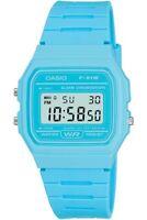 Casio Vintage F-91WC-2AEF Classic Digital RETRO LCD Blue Watch F-91 Brand NEW