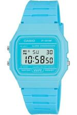 Casio Vintage F-91WC-2AEF Classic Digital RETRO LCD Blue Watch F-91 Brand NEW