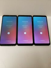 LOT OF THREE!! LG Stylo 4 LM-Q710 - 32GB - Black Smartphone