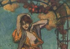 1900 Belle gravure La danse art nouveau album de la décoration Aman Jean