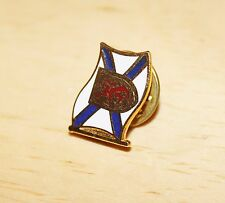 Vintage Nova Scotia Flag Tacback Pinback Lapel Hat Pin Gold Base