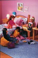 """ Meeting Room "" - Fashion Collectible Photo Card Mattel -- Barbie Doll Postcard"