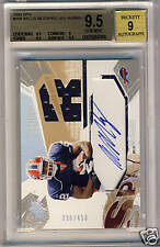 Willis McGahee 2003 SPX Autograph Jersey BGS 9.5 GEM MT