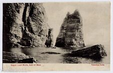 Sugar Loaf Rock, Isle of Man vintage Postcard - 1904
