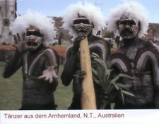 Foto-Ansichtskarte: Yolngu-Tänzer, Arnhemland, Australien