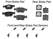 Mercedes R170 SLK230 TEXTAR Front + Rear Brake Pad KIT with 4 Brake Pad Sensors