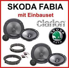 Skoda Fabia Lautsprecher Boxen Set VORNE Frontsystem  Hinten Clarion-System