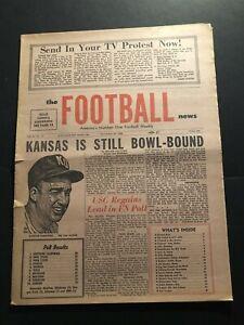 1968 Football News KANSAS Football PEPPER RODGERS Orange Bowl? NFL AFL Round up