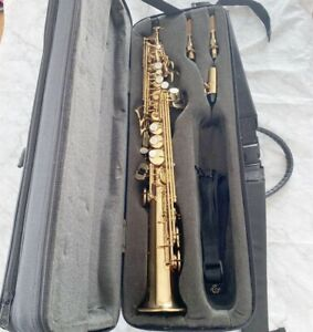 Selmer Soprano Saxophone series III with Engraving From Japan