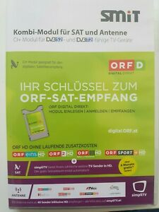 ORF  cardless CI+ SAT MODUL inkl. 5 Jahre ORF HD Freischaltung