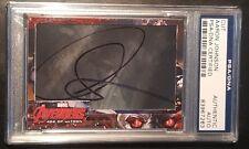 Aaron Taylor Johnson Quiksilver Avengers UD Foil AUTO Signed Autograph PSA/DNA