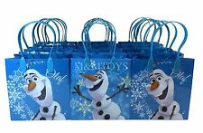 New! 12pc Disney Frozen Olaf Goody Bags Party Favor Gift Supplies