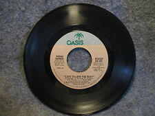 "45 RPM 7"" Record Donna Summer Love To Love You Baby 1975 Casablanca OC 401 VG+"