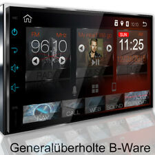 AUTORADIO mit GPS BLUETOOTH DAB+ Navi USB SD Doppel 2DIN Navigation MP3 Android