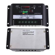 Intelligent 30A PWM Solar Panel Charge Controller 12V/24V Battery Regulator Auto