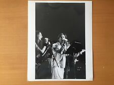 Rare Vintage American Rock Stars: Rock Musicians on Stage Publicity Photo