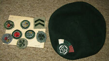Girl Scout Beret and Patches, 1930s