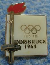 OLYMPIC INNSBRUCK 1964 - 100 ANNIVERSARY OLYMPIC GAMES ( 1896-1996 ) PIN BADGE