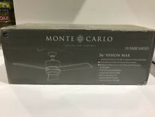"""Monte Carlo Vision Max 56"""" Outdoor Ceiling Fan w/LED Light  3VNMR56BSD"""