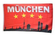 Fahne Fanflagge Bayern 4 Sterne München Flagge  Hissflagge 90x150cm