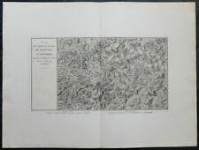 Carte militaire GOUVION ST-CYR 1836 LIPTINGEN MOSSKIRCH Tuttlingen Friedingen 2