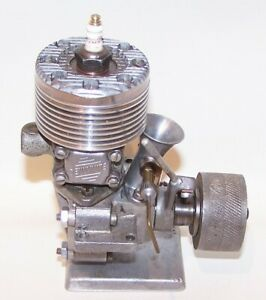 Very Good Denny Berg Conversion .57 Spark Ign. Gas Powered Tether Car Engine