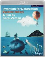 Invention for Destruction [Blu-ray] 1958 Karel Zeman Remastered Film Jules Verne