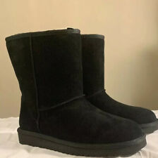 KOOLABURRA BY UGG, KOOLA SHORT 1017090 BLACK SIZE 5, WOMAN'S BOOTS BRAND NEW