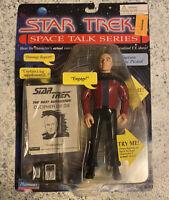 Playmates Star Trek Space Talk Series Captain Jean-Luc Picard Action Figure