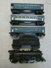 LIONEL 1666 , 2430(2), 2431 POSTWAR 1946 SET PRE OWNED TESTED