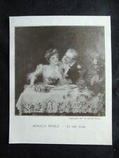 Achille Fould - Vino dolce Stampa del 1907